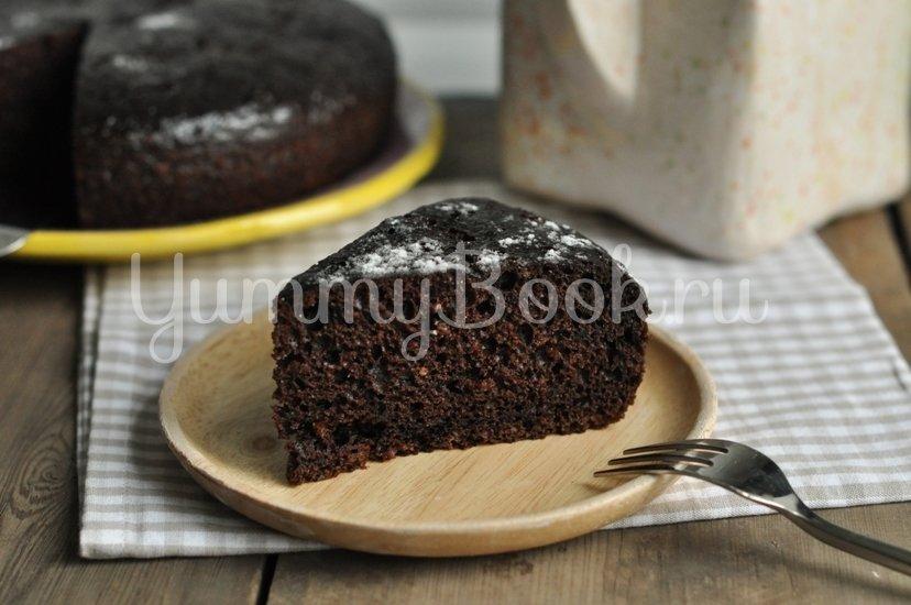 Шоколадный пирог на сметане в мультиварке - шаг 7