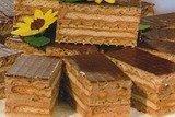 Торт из печенья и вафель