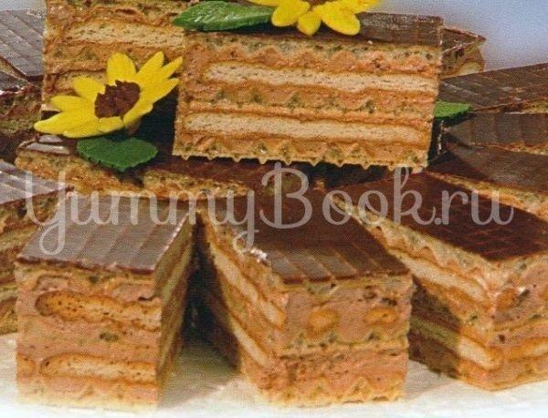 Торт из печенья и вафель - шаг 5