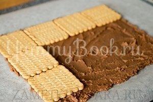 Торт из печенья и вафель - шаг 4