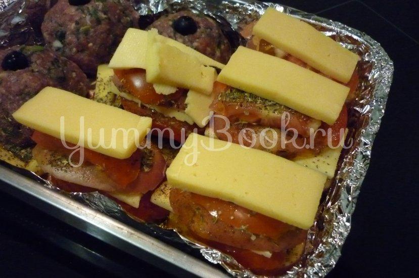 Картофель, запечённый с помидором, маслинами и сыром - шаг 18