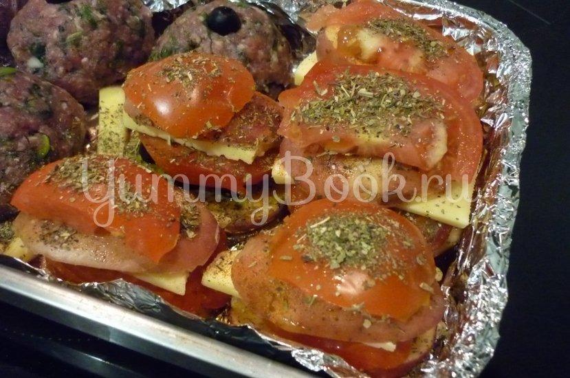 Картофель, запечённый с помидором, маслинами и сыром - шаг 17