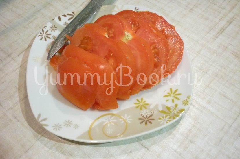 Картофель, запечённый с помидором, маслинами и сыром - шаг 9