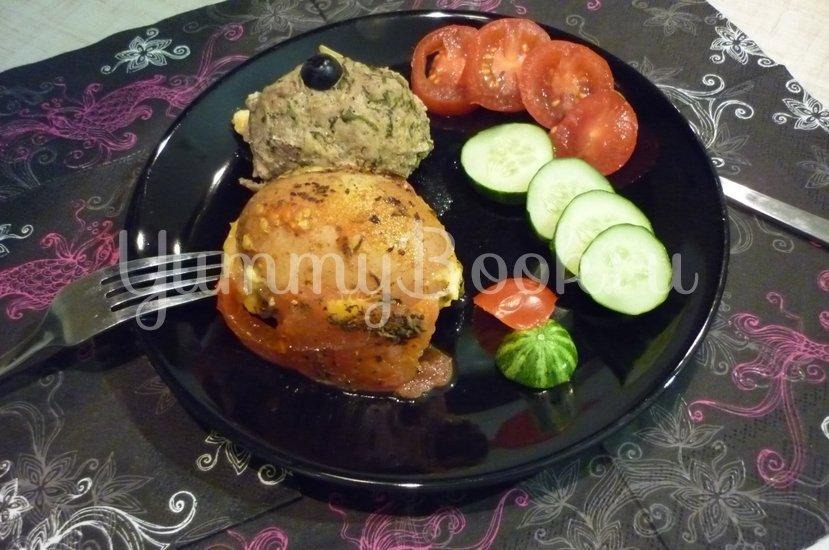 Картофель, запечённый с помидором, маслинами и сыром - шаг 21