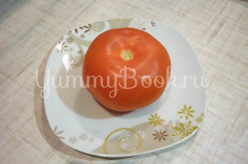 Картофель, запечённый с помидором, маслинами и сыром - шаг 8