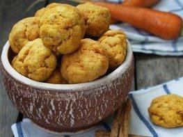 Морковно-яблочное печенье