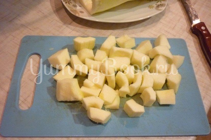 Печёночно-кабачковые оладьи - шаг 7