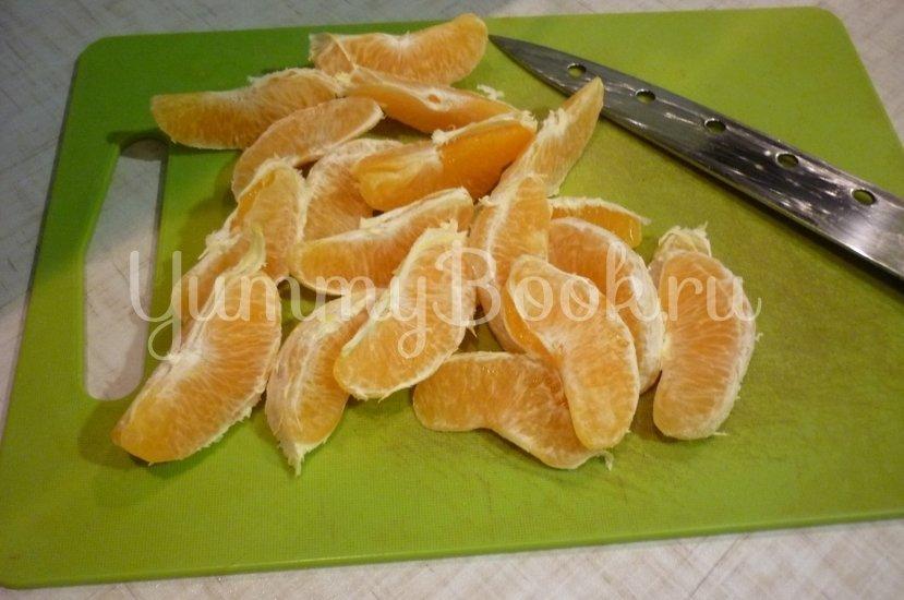 Апельсиновая утка, запечённая с яблоком в мёде - шаг 7