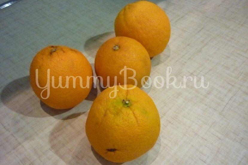 Апельсиновая утка, запечённая с яблоком в мёде - шаг 4