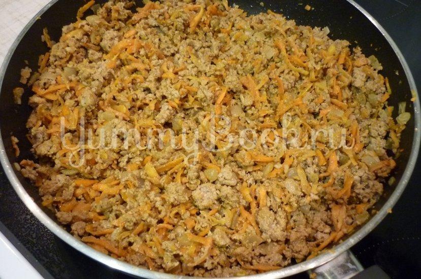 Запеканка из кабачков и фарша под сырно-яичной заливкой - шаг 26