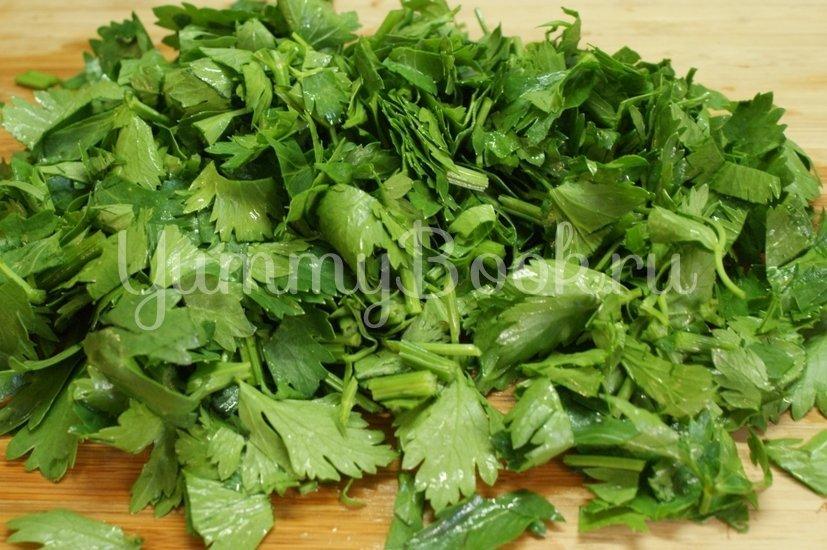 Салат овощной с сулугуни - шаг 5