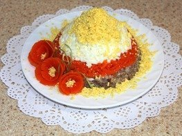 Салат рыбный (из консервы)