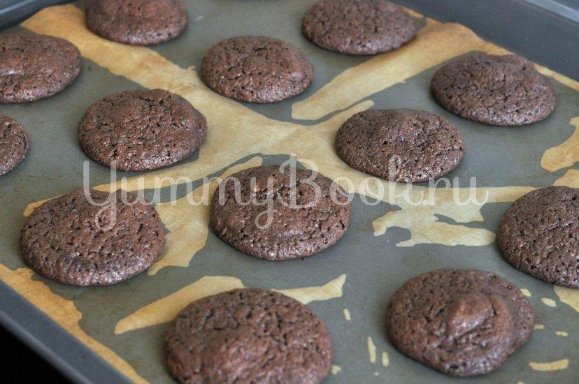 Шоколадное печенье с шоколадной крошкой - шаг 8