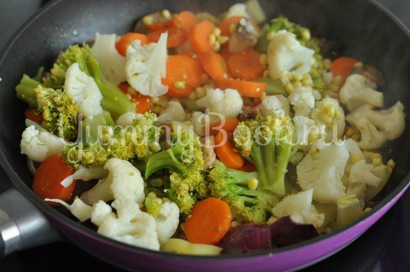 Овощи в кисло-сладком соусе - шаг 6