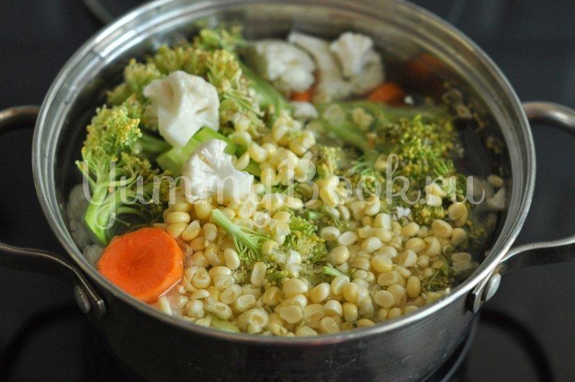 Овощи в кисло-сладком соусе - шаг 1
