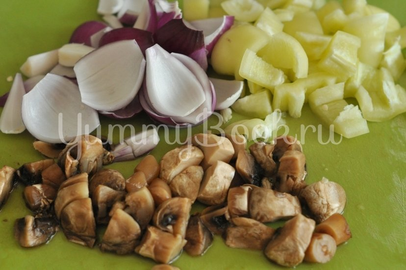 Овощи в кисло-сладком соусе - шаг 3