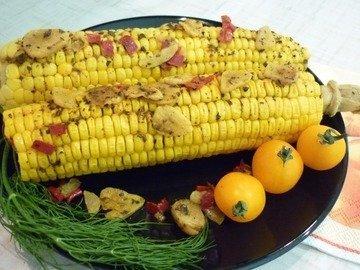 Запечённая кукуруза с остринкой