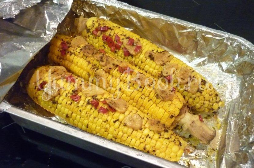 Запечённая кукуруза с остринкой - шаг 11