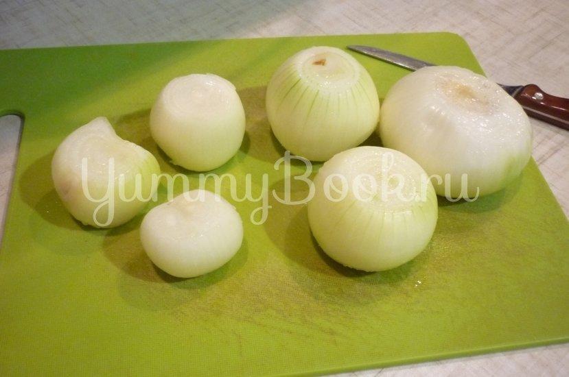 Печёночный торт с зеленью и помидорами - шаг 3
