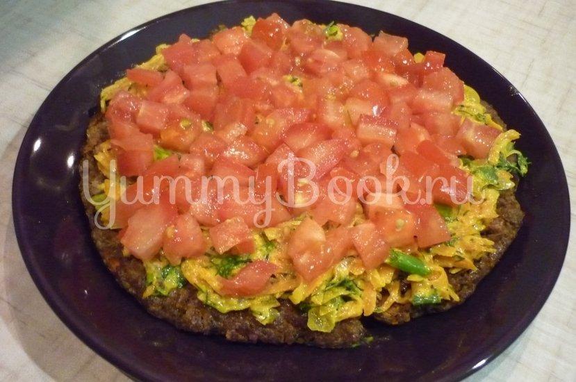 Печёночный торт с зеленью и помидорами - шаг 18