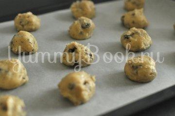 Печенье с шоколадной крошкой - шаг 4