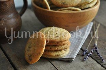 Печенье с шоколадной крошкой - шаг 5