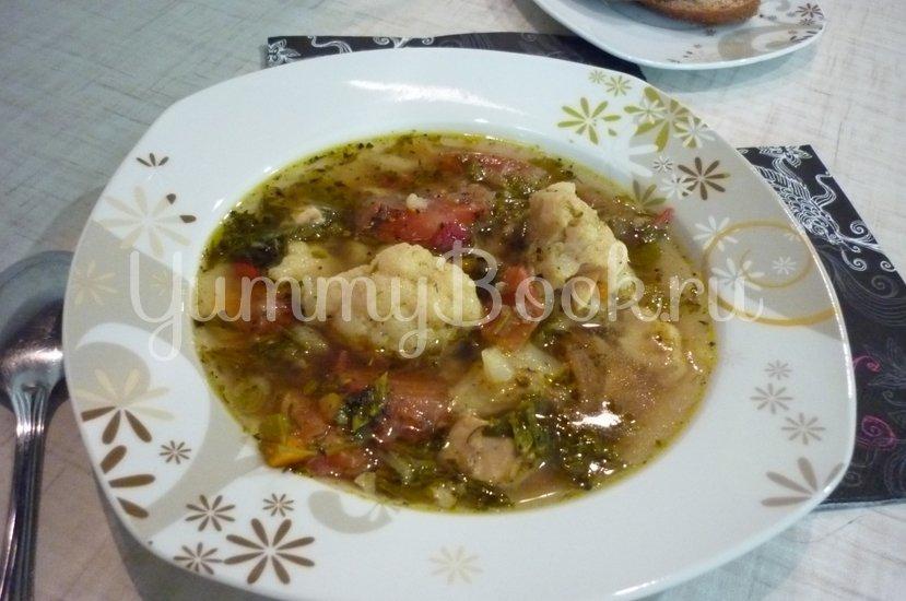 Лёгкий куриный суп с цветной капустой - шаг 27