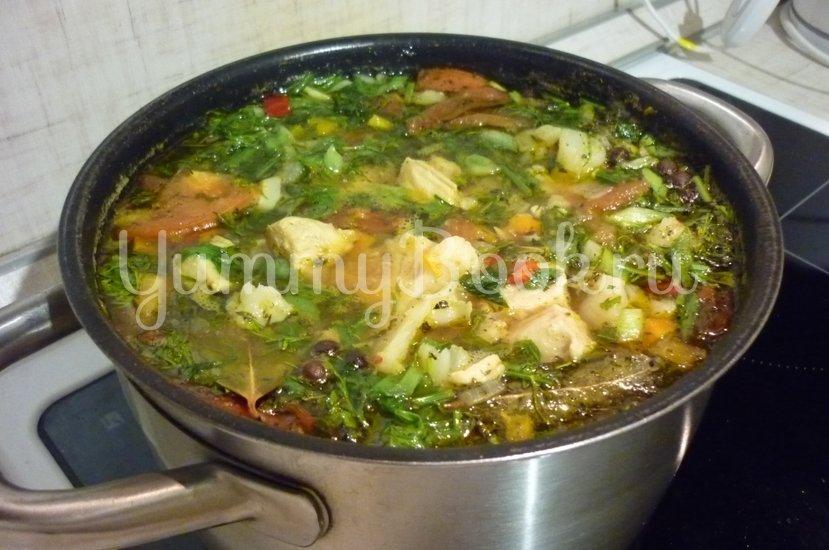 Лёгкий куриный суп с цветной капустой - шаг 26