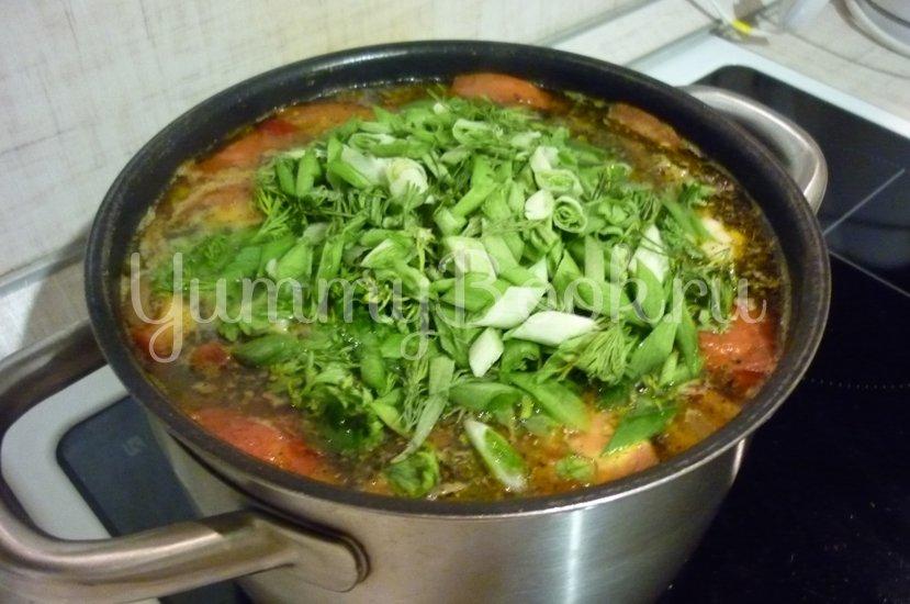 Лёгкий куриный суп с цветной капустой - шаг 25