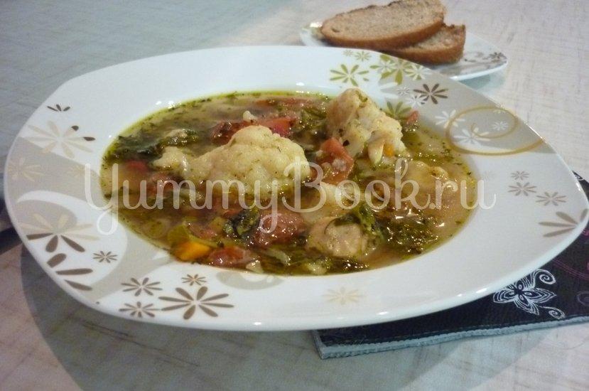 Лёгкий куриный суп с цветной капустой - шаг 28