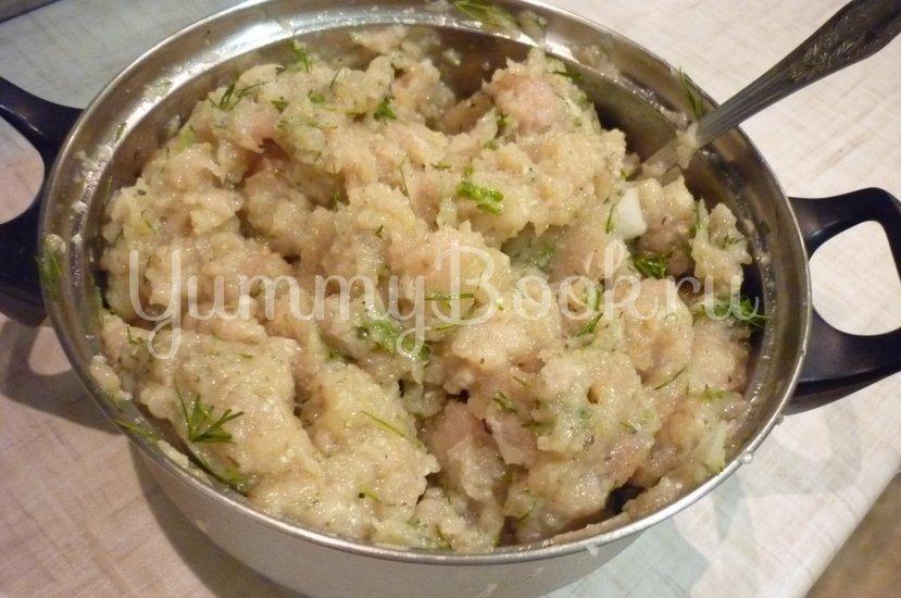 Куриные тефтели без риса с двумя соусами - шаг 5