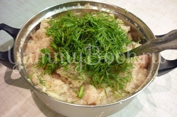 Куриные тефтели без риса с двумя соусами - шаг 4