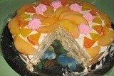 Торт творожно-фруктовый