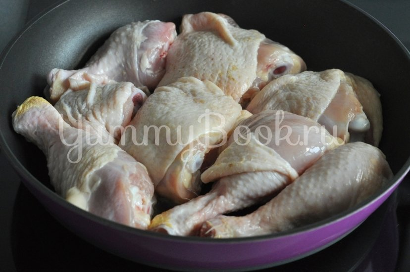 Цыпленок со специями - шаг 1