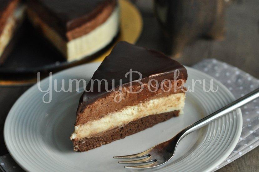 Торт-мусс сливочно-шоколадный - шаг 19