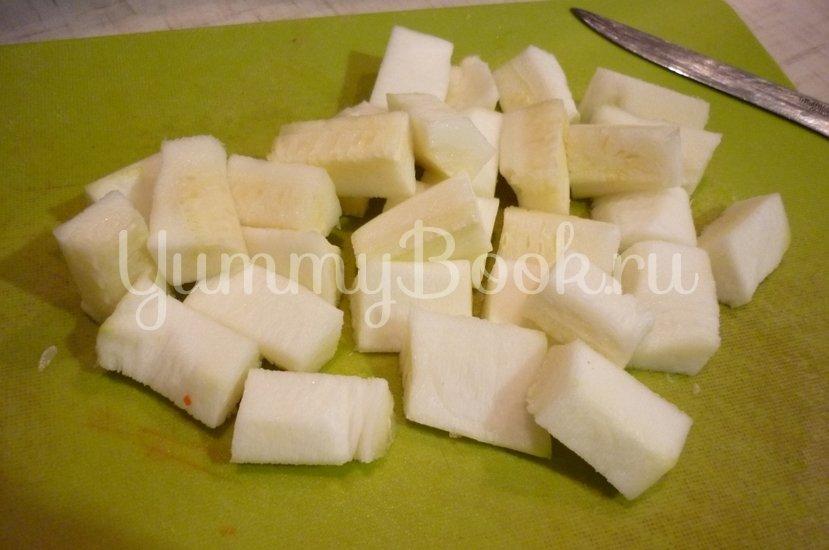 Кабачковый суп-пюре из запечённых овощей - шаг 4
