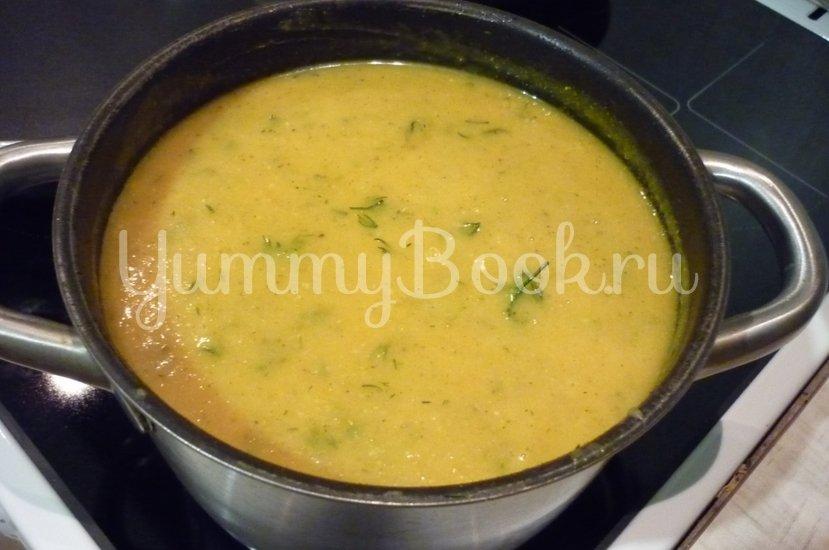 Кабачковый суп-пюре из запечённых овощей - шаг 19