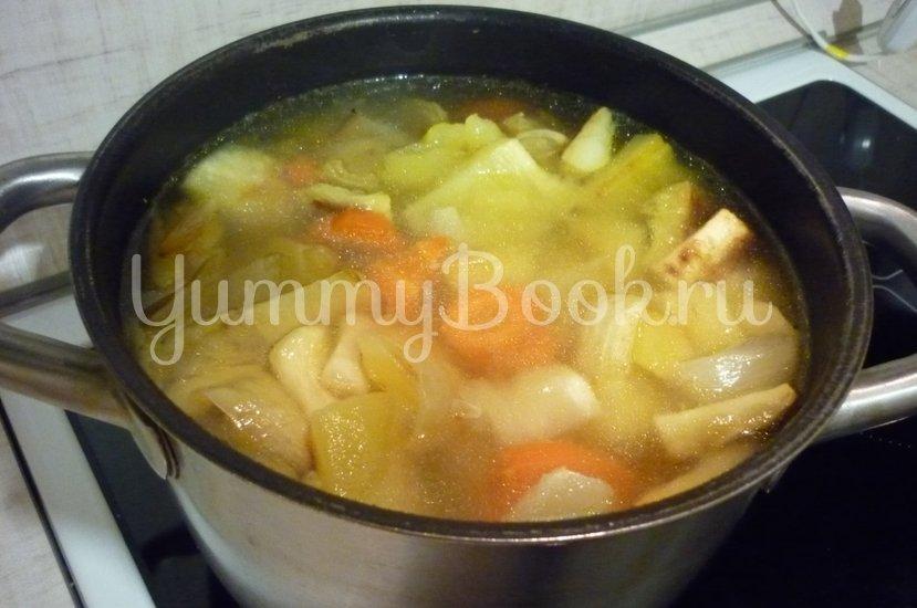 Кабачковый суп-пюре из запечённых овощей - шаг 14