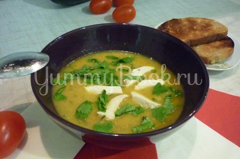 Кабачковый суп-пюре из запечённых овощей - шаг 21