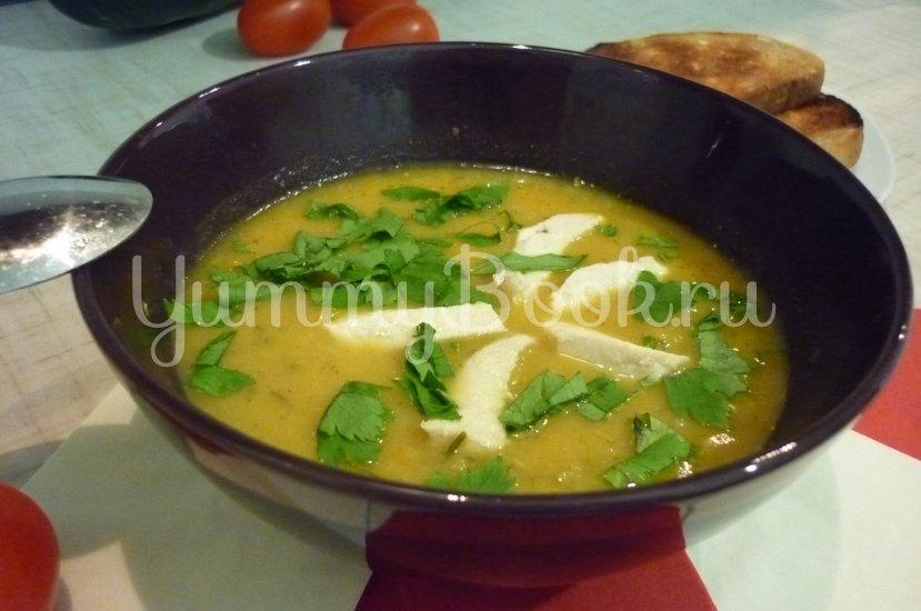 Кабачковый суп-пюре из запечённых овощей - шаг 22