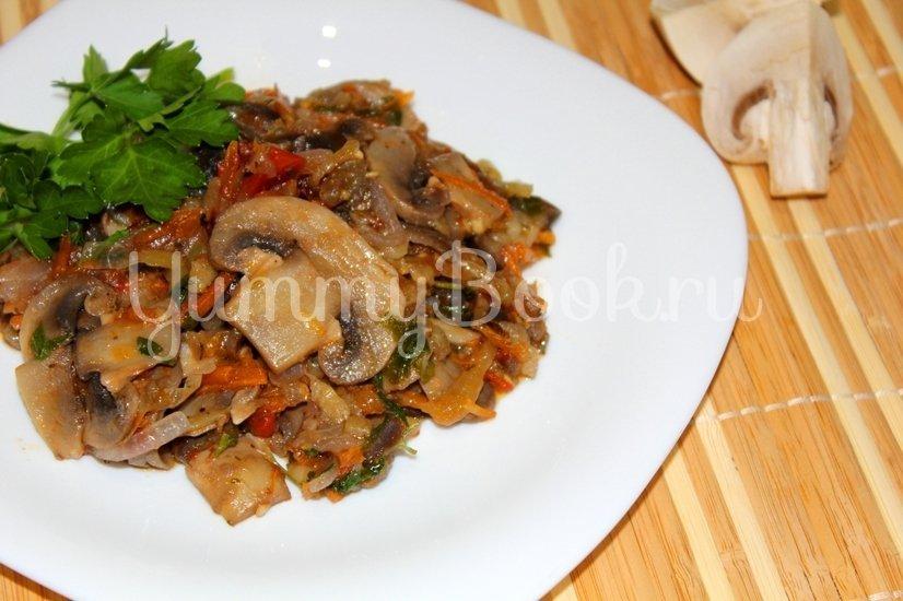 Овощное рагу с грибами - шаг 5