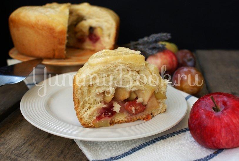 Пирог фруктовый на сыворотке в мультиварке - шаг 8