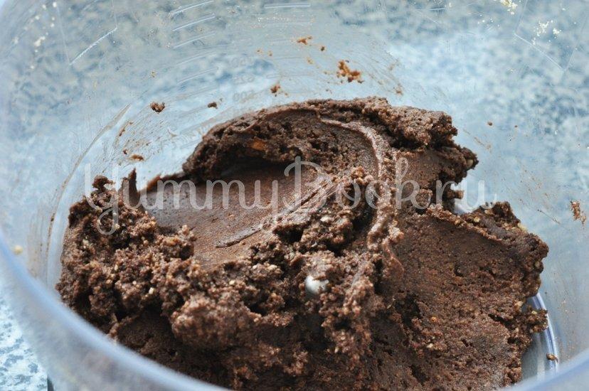 Шоколадно-кокосовый рулет без выпечки - шаг 4