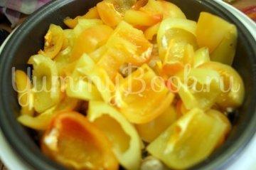 Овощи с курицей и фетой в мультиварке - шаг 4
