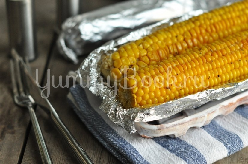 Кукуруза запеченная в духовке - шаг 4
