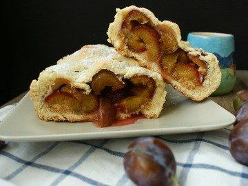 Сливовый пирог по-итальянски