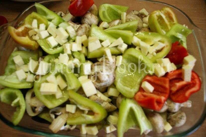 Печёные овощи с брынзой - шаг 4