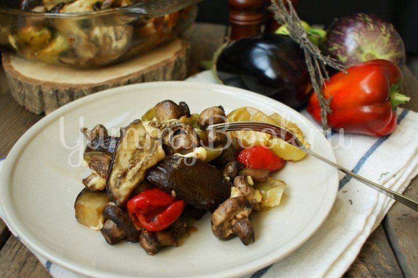 Печёные овощи с брынзой - шаг 5