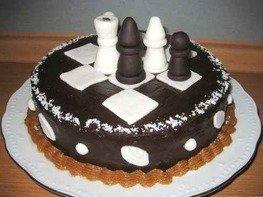Торт Шахматный