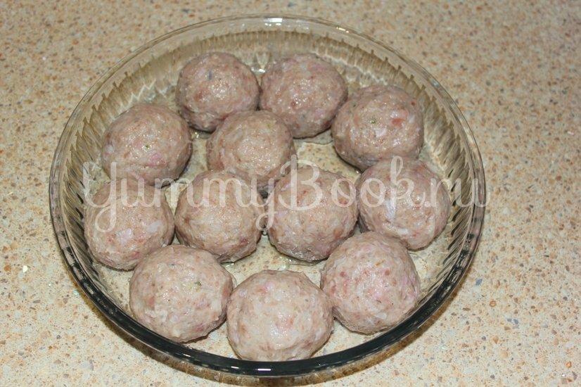 Тефтели из мяса индейки в сливочном соусе - шаг 4